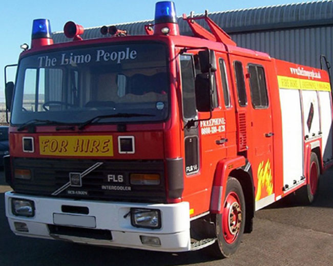 Fire Engine Hire